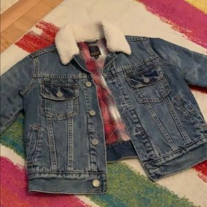 Gap x Pendleton Collaboration Lined Jean Jacket S